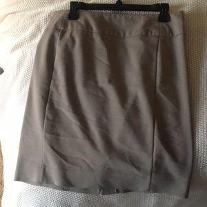 BEAUTIFUL Khaki pencil skirt!